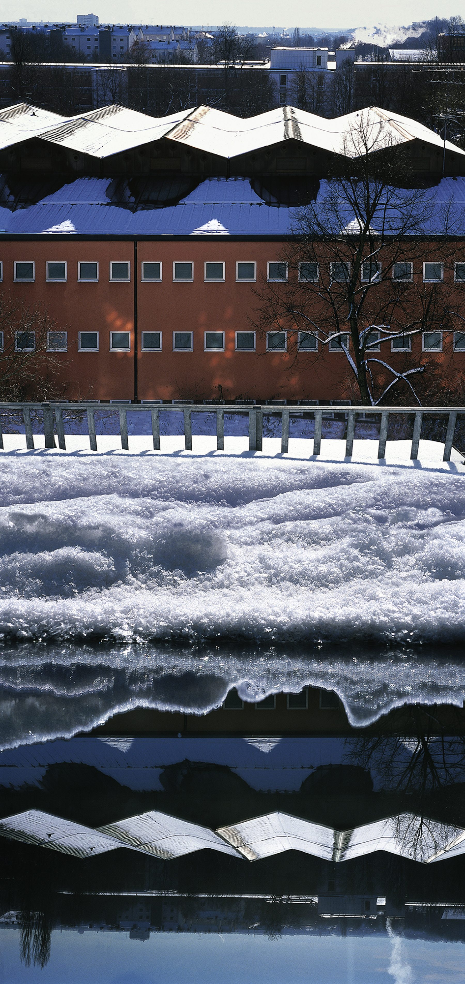 Schnee Fenster