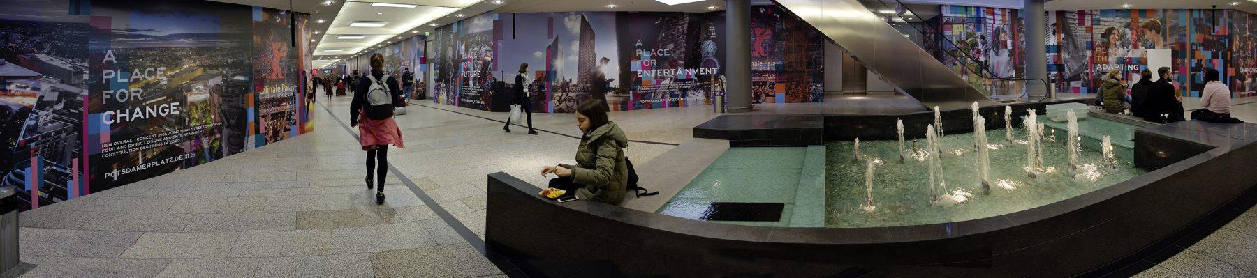 Leerstand und Umbau, Potsdamer Platz Arkaden