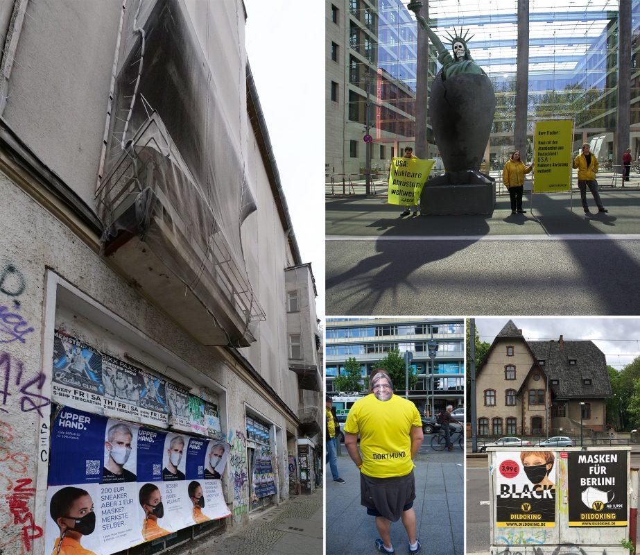 Berlin trägt Maske