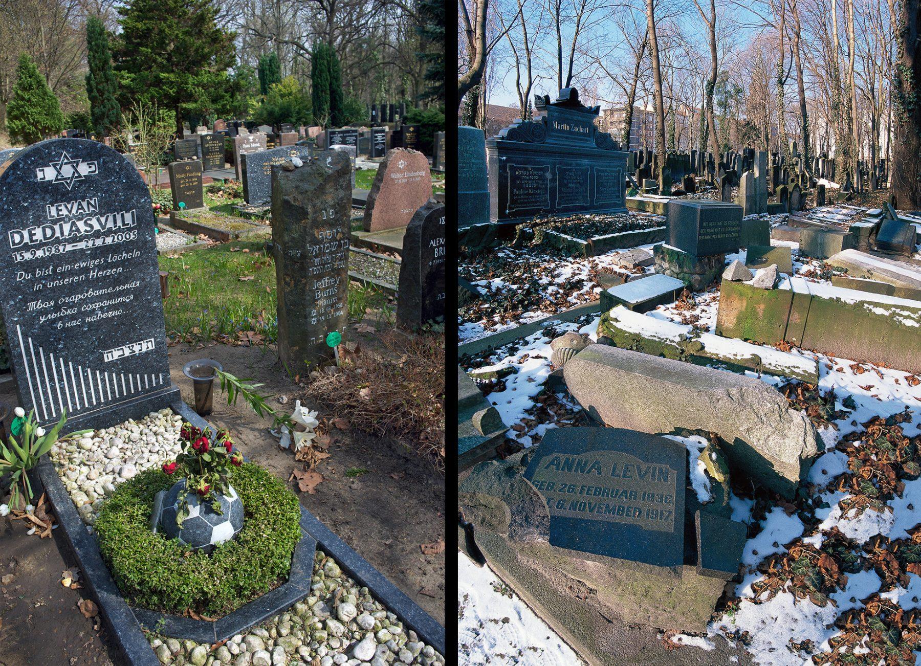 Berlin, Jüdischer Friedhof Weissensee, Jüdischer Friedhof Schönhauser Allee