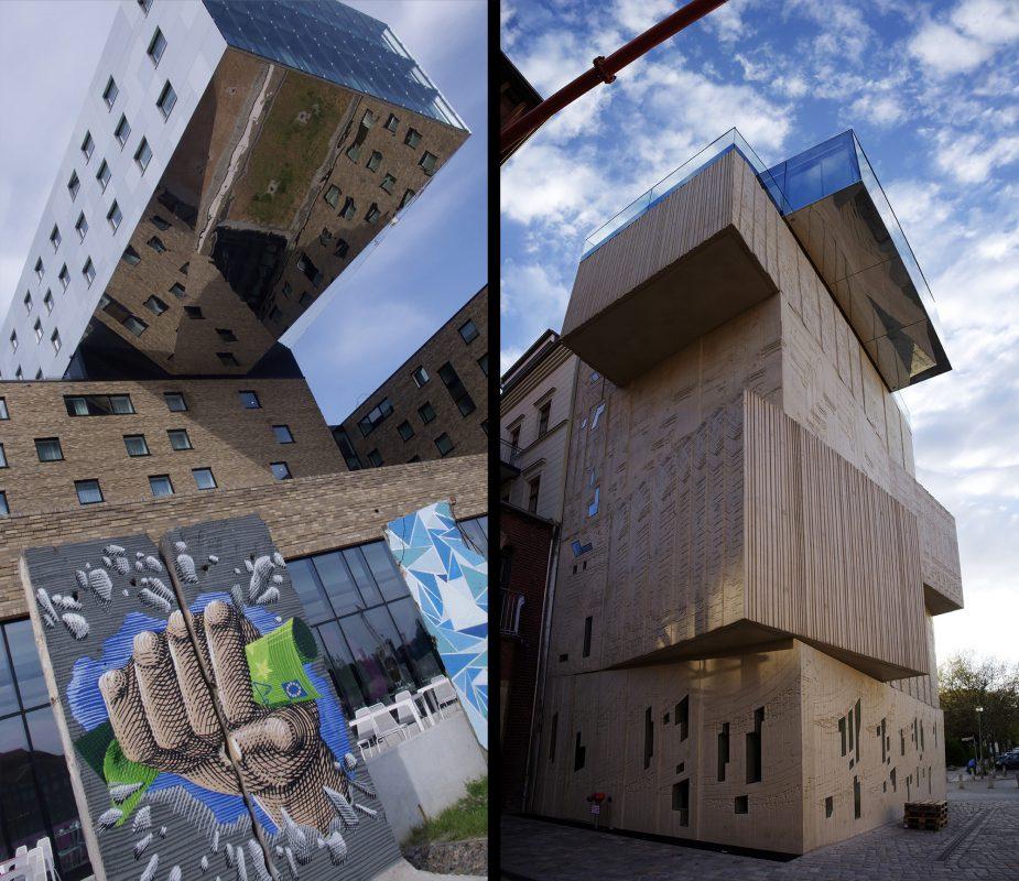 Berlin, Hotel nHow, Tchoban Foundation - Museum für Architekturzeichnung