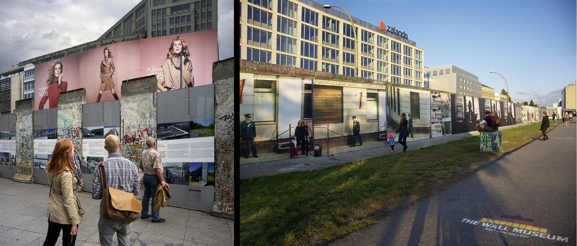 Potsdamer Platz Mauerstück, East Side Gallery Zalando