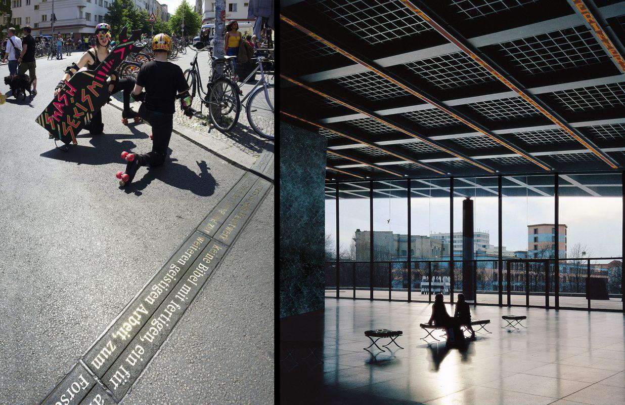 Jenny Holzer, Rosa-Luxemburg-Platz, Nationalgalerie