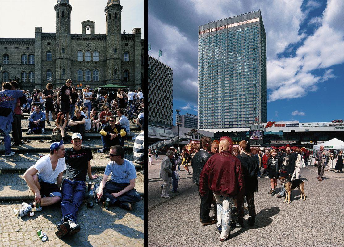 Berlin, Haus Bethanien, Alexander Platz, Mariannen Platz