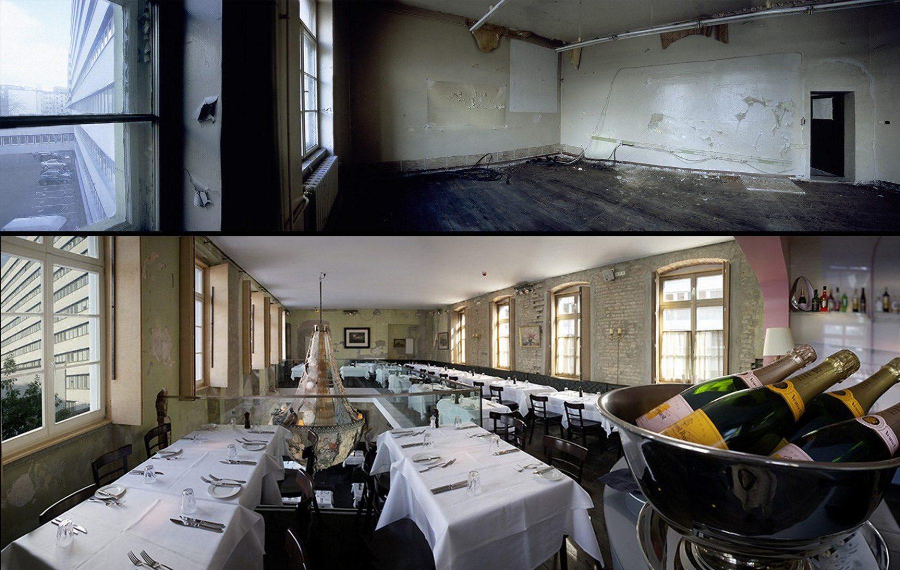 ehemaliges Schulgebäude, Restaurant The Grant