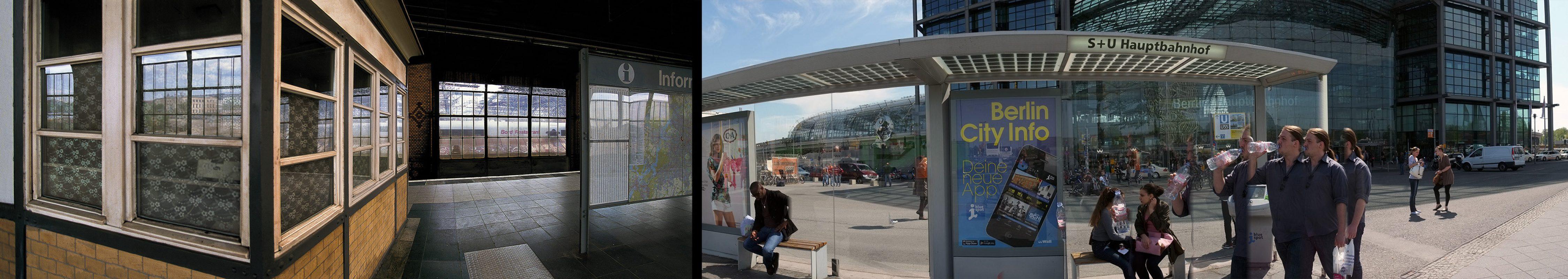 Berlin, Infohaus Lehrer Bahnhof, Hauptbahnhof