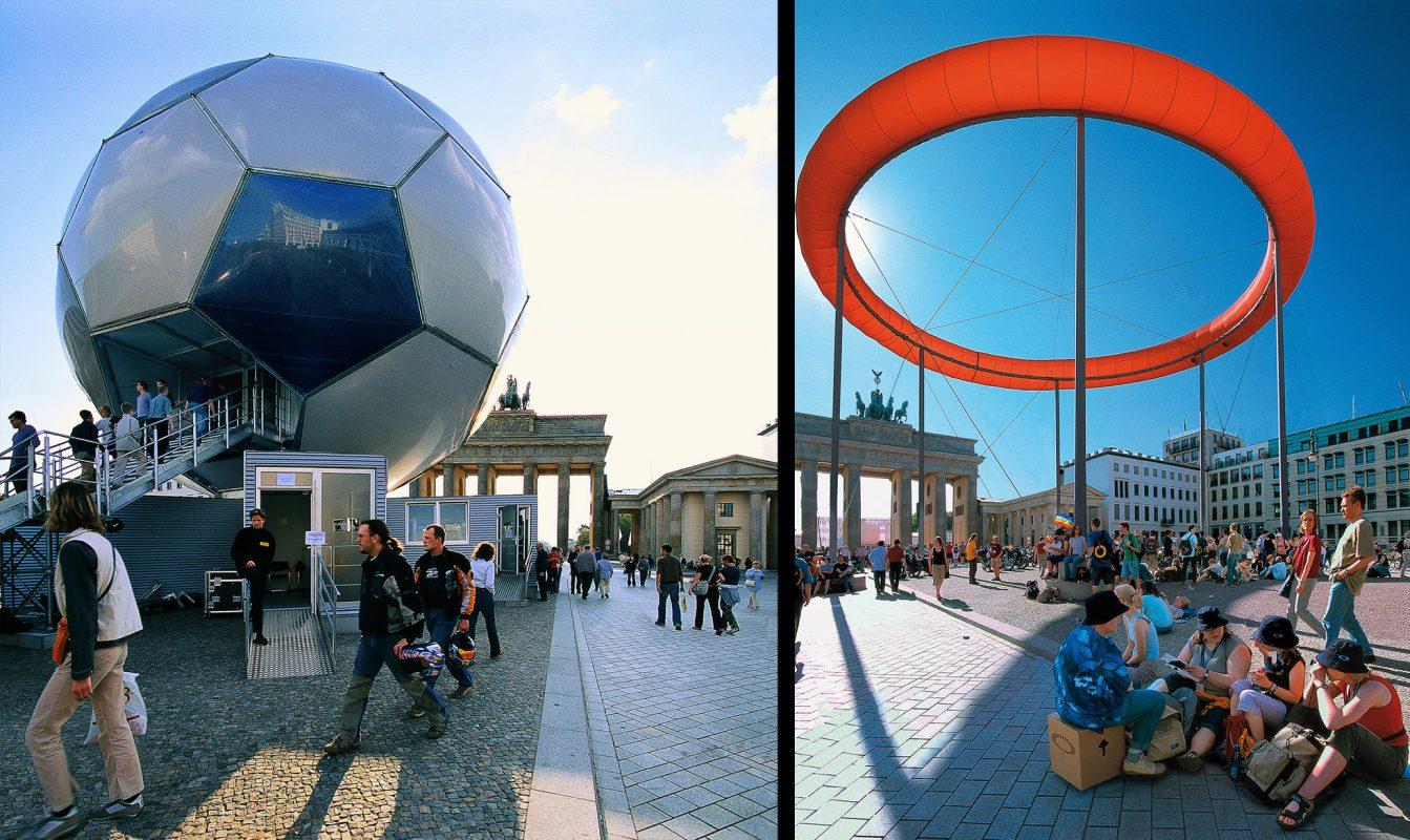 Brandenburger Tor, Kirchentag, Fußball Weltmeisterschaft
