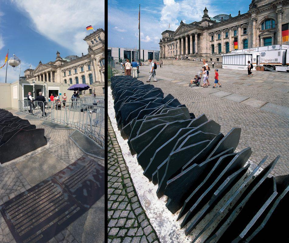Denkmal von Nationalsozialisten ermordete Reichstagsabgeordnete, Reichstag