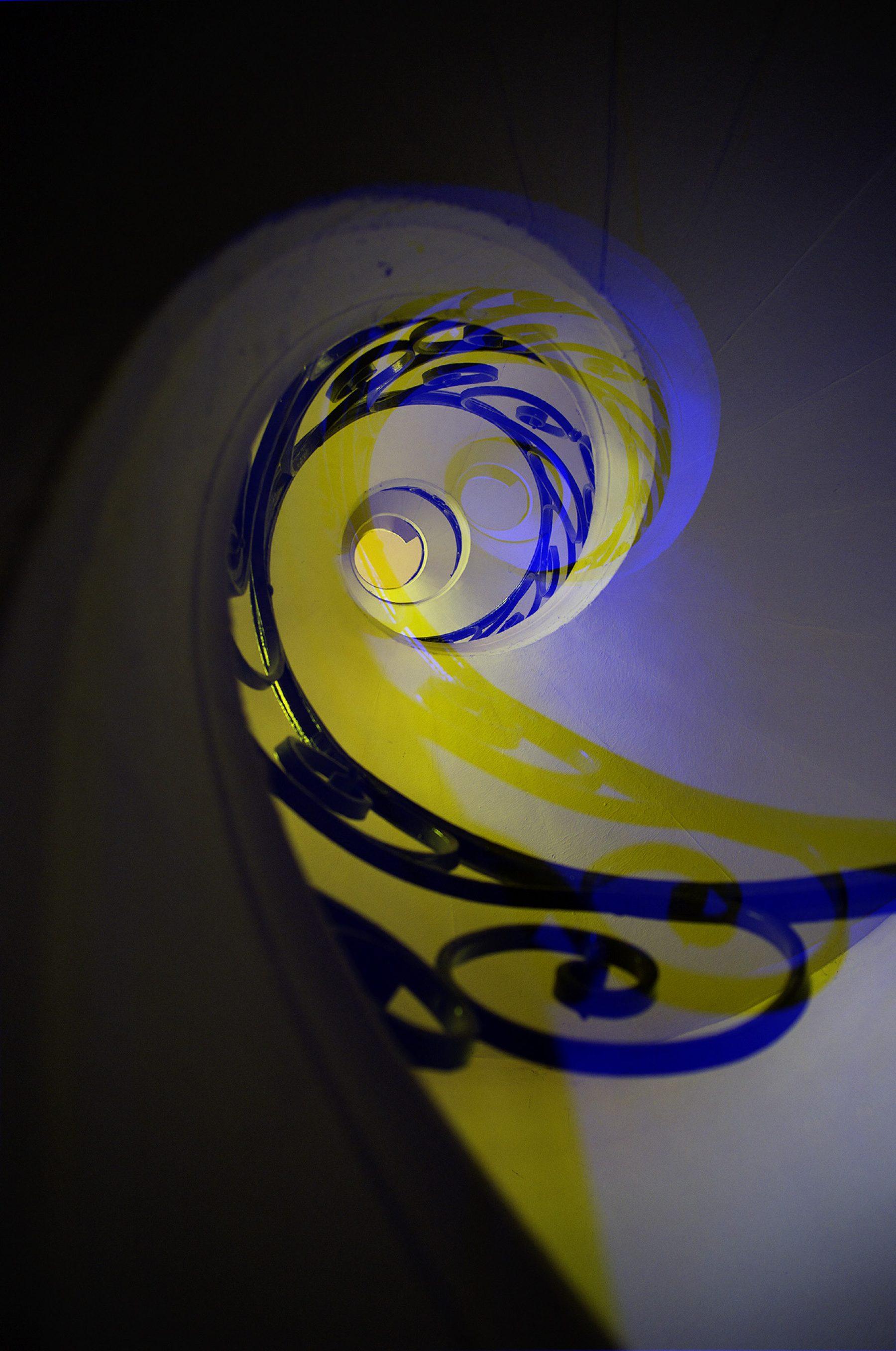 Spirale gef schwarz doppelt