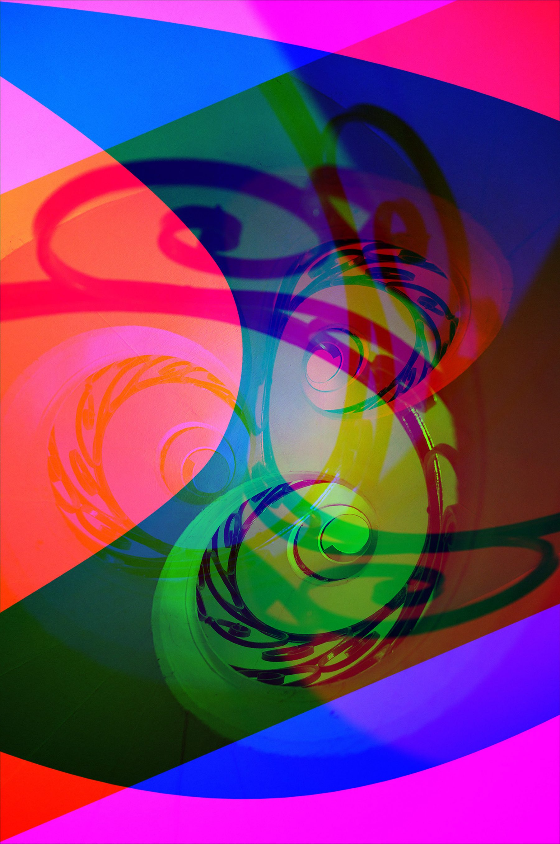 Spirale gef schwarz mehrfach