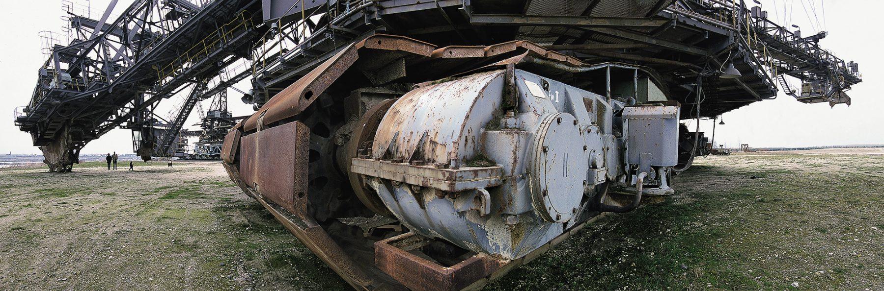 ehemaliger Braunkohletagebau, Ferropolis, Freizeitpark, Schaufelradbagger Big Wheel V
