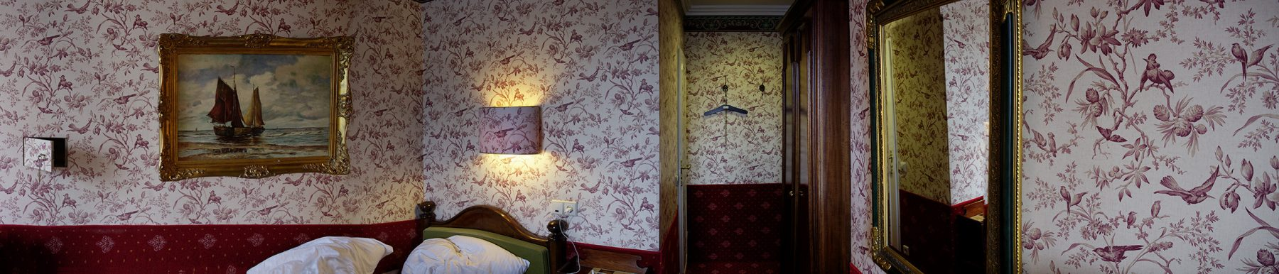 Tapete, Hotelzimmer