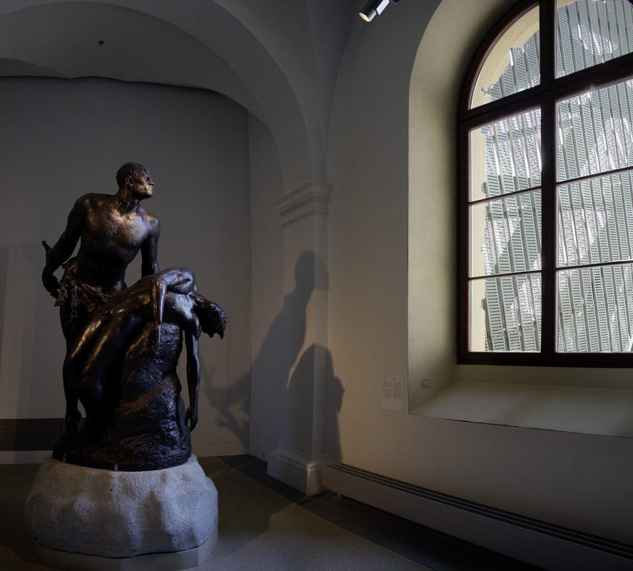 Militär Skulptur