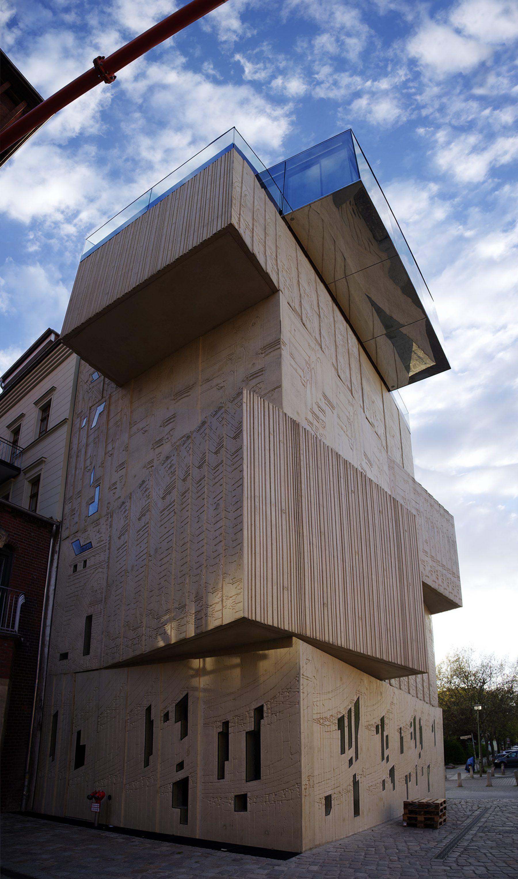 Berlin Prenzlauer Berg, moderne Architektur, Museum für Architekturzeichnung
