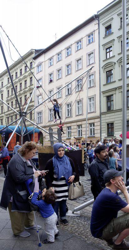 Berlin, Bergmannstraße, Straßenfest