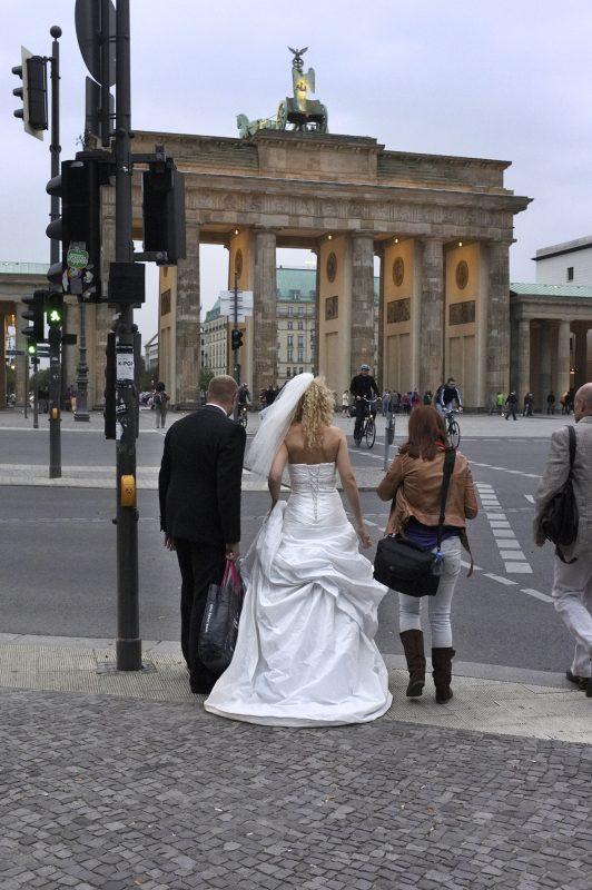 Brandenburger Tor, Brautpaar