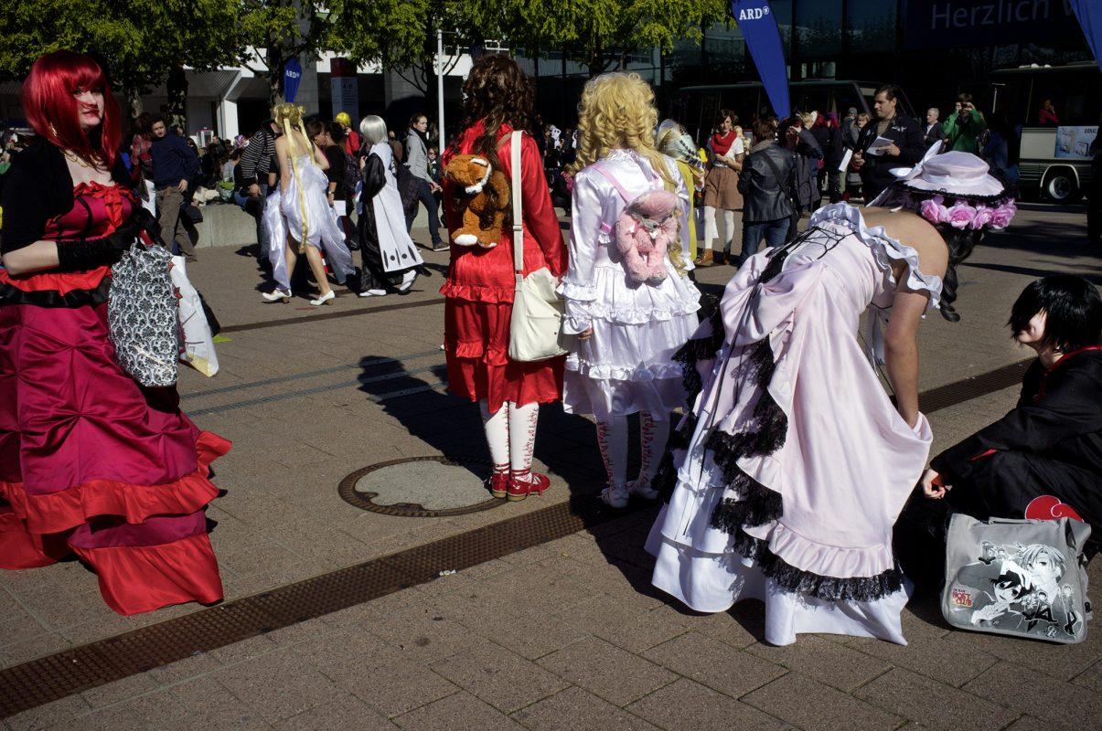 Frankfurter Buchmesse, Mangafrauen