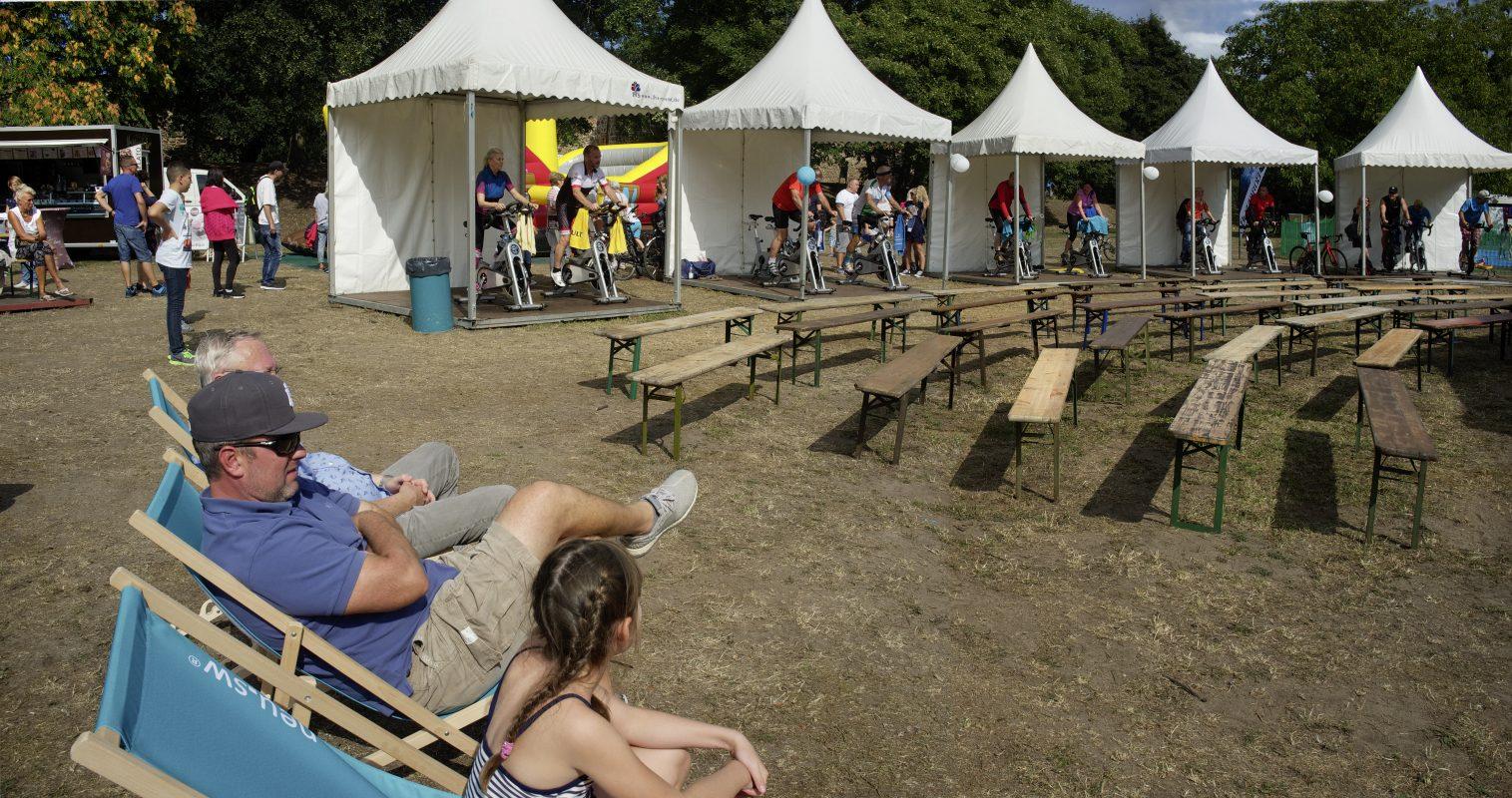 Volksfest, Zuschauer