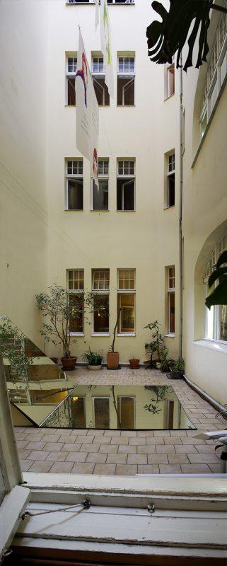 Hotel Bogota Innenhof