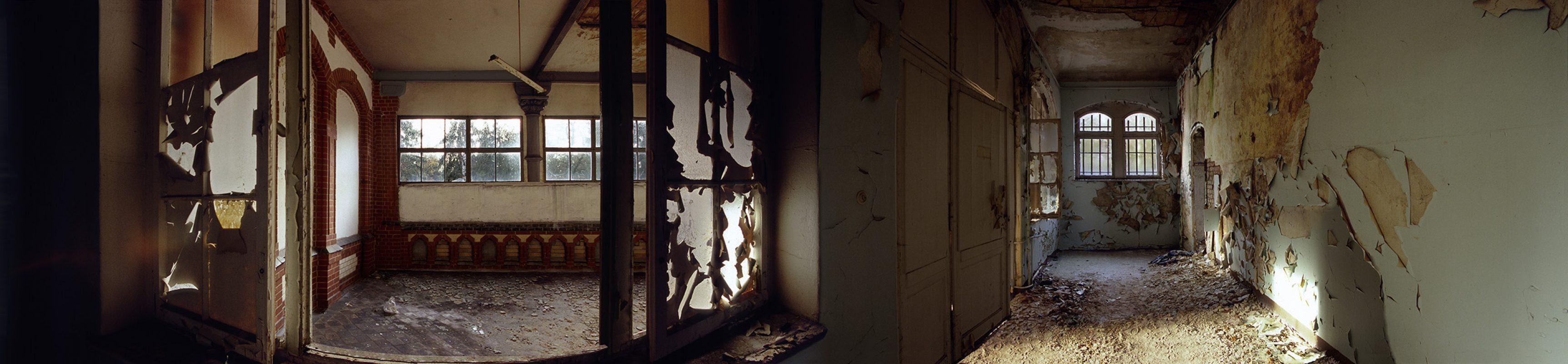 Beelitz-Heilstätten, Holzfenster langes Haus