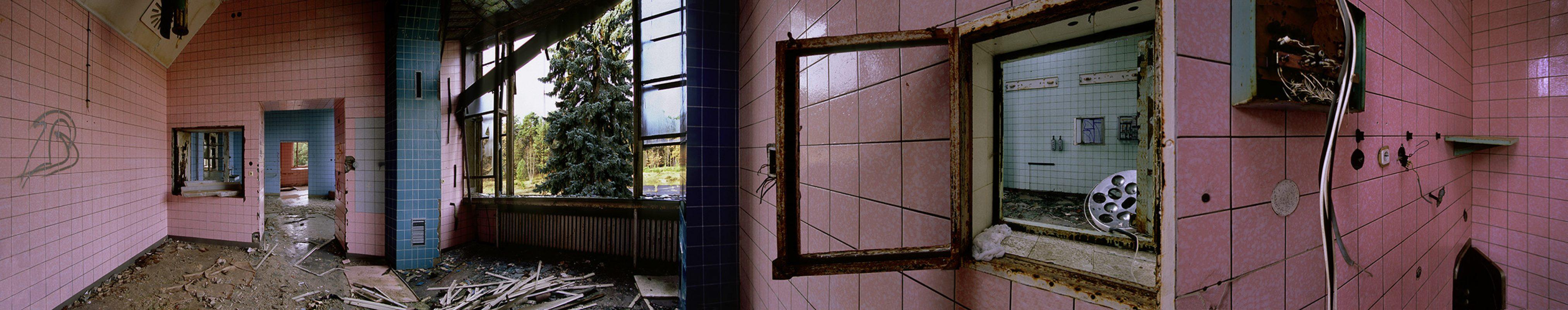 Beelitz-Heilstätten, Rosa Fliesen