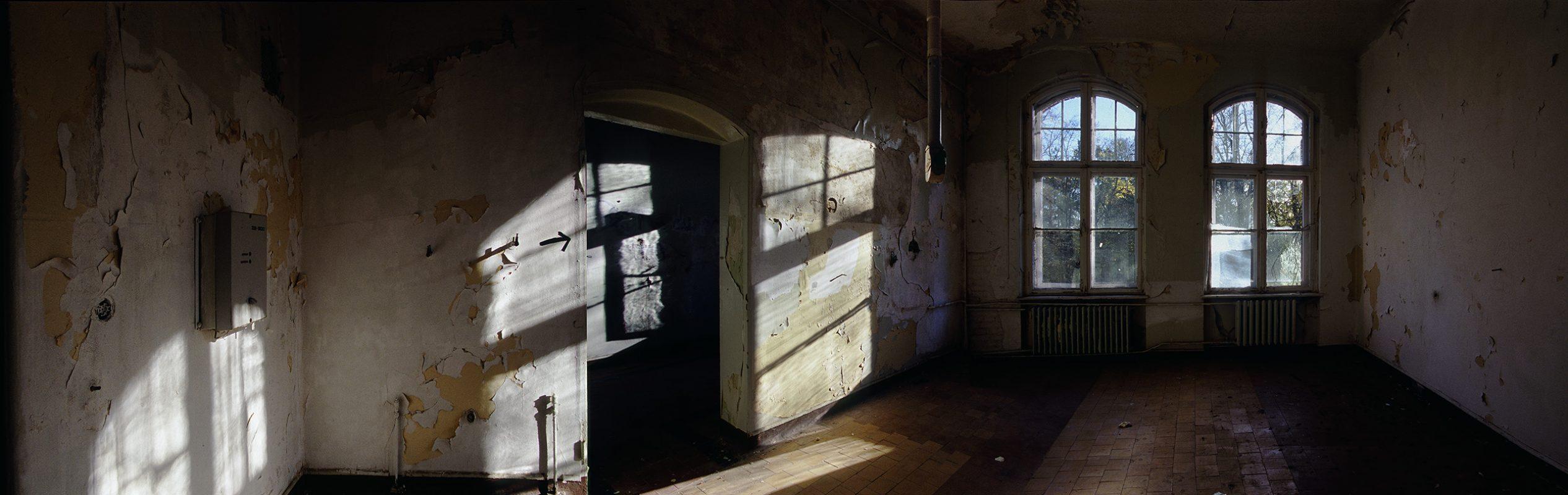 Beelitz-Heilstätten, weißer raum