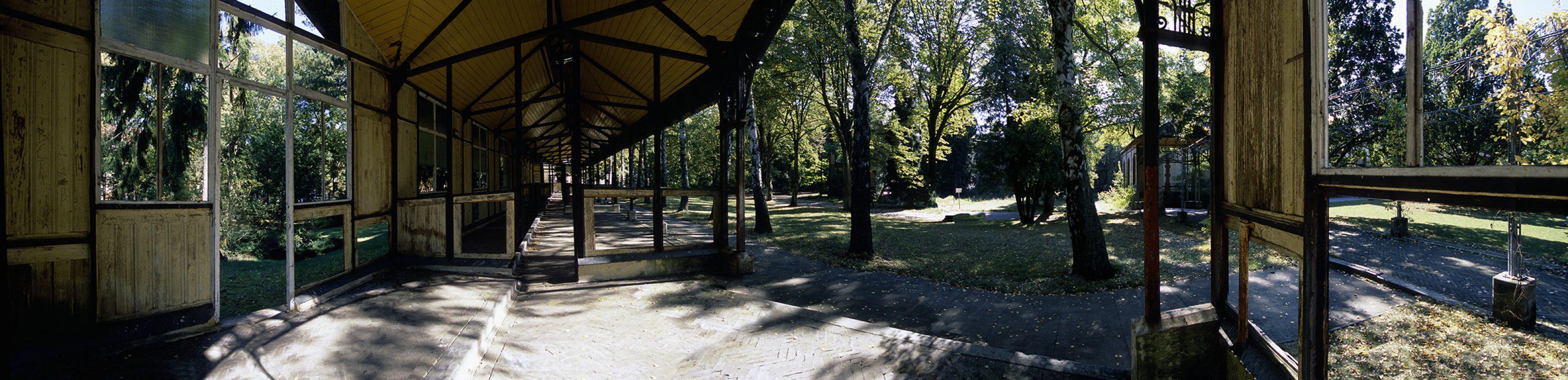 Beelitz-Heilstätten, aussenanlage