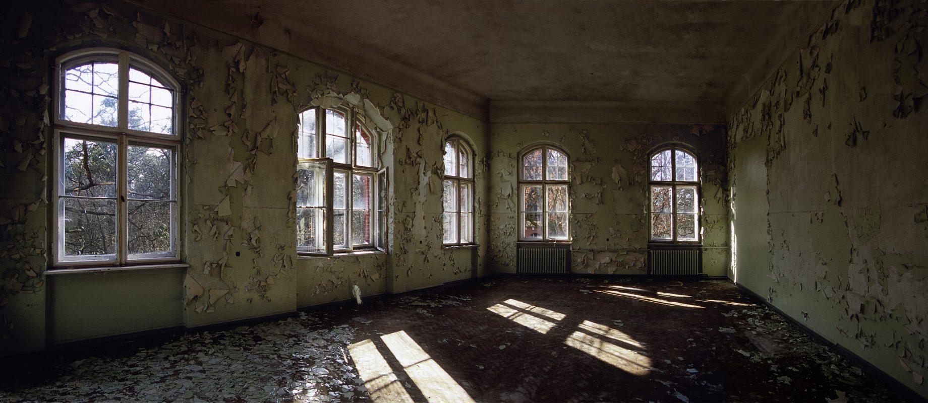 Beelitz-Heilstätten, fensterraum