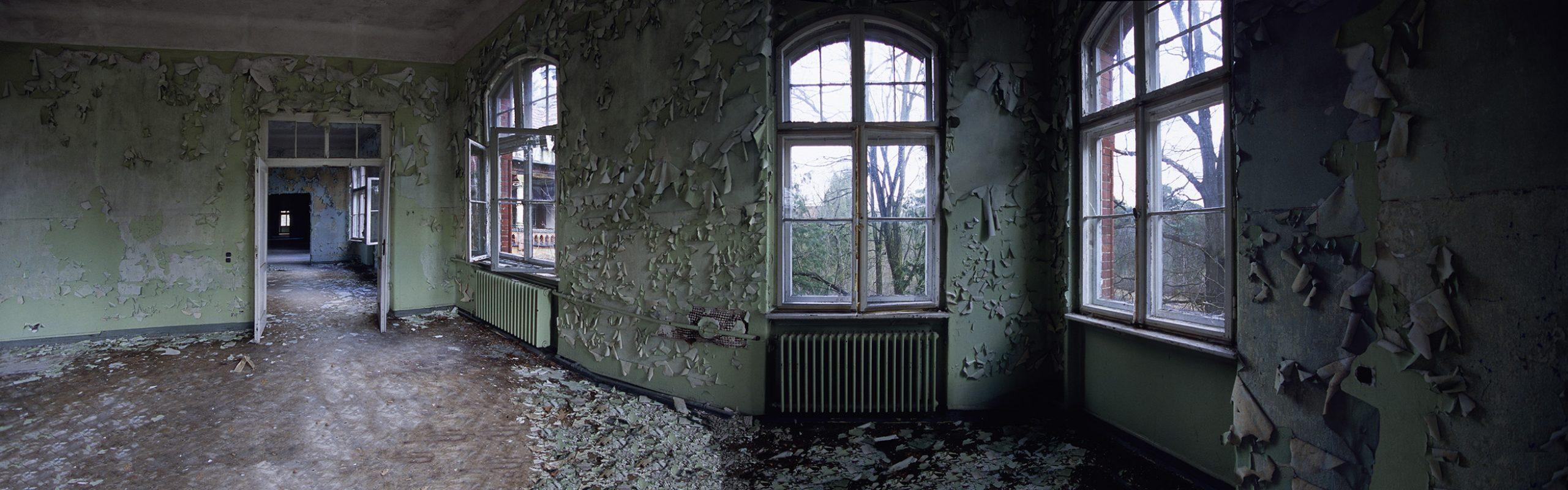 Beelitz-Heilstätten, grüner ausblick