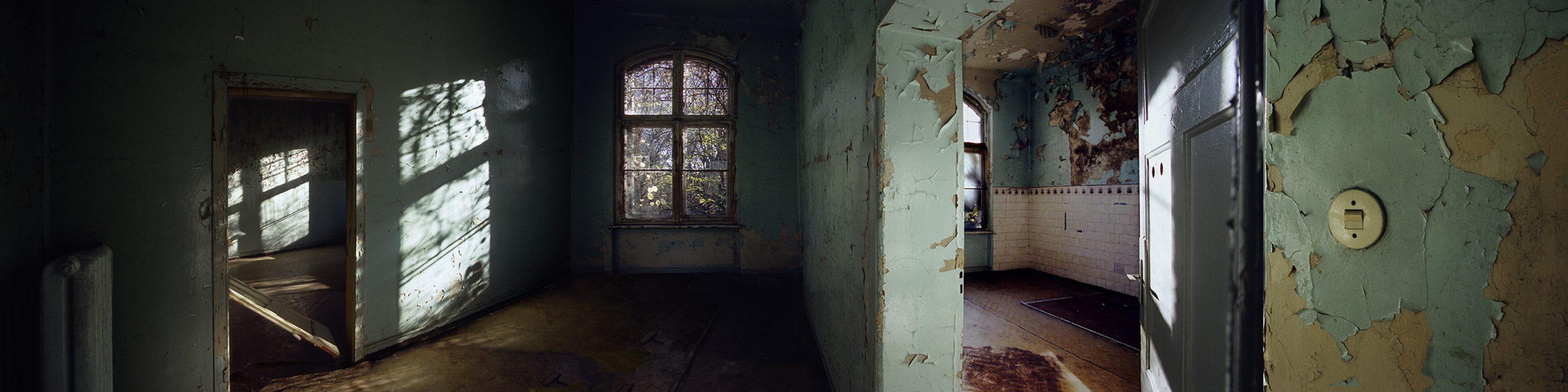 Beelitz-Heilstätten, grüner Raum