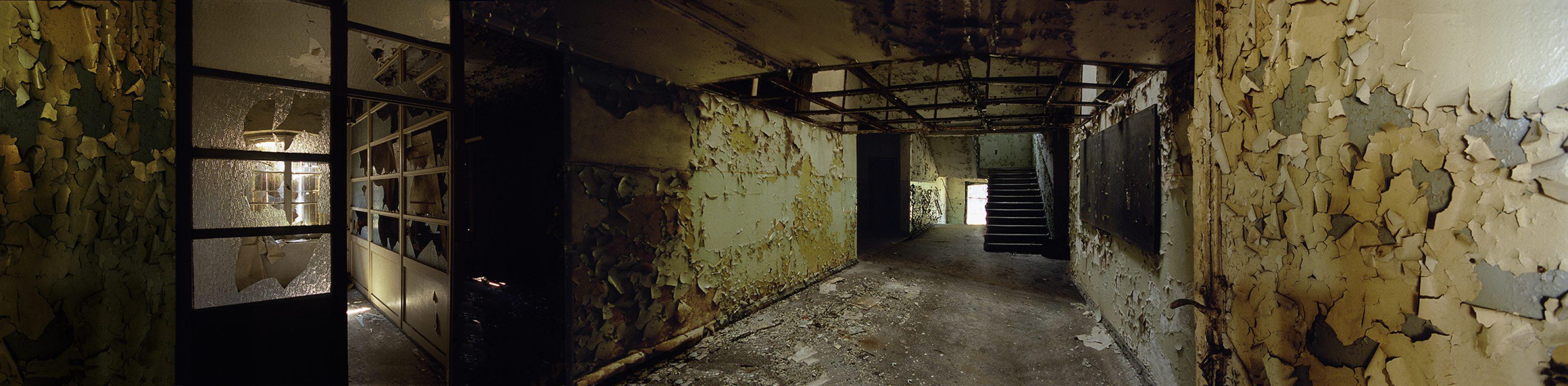 KZ-Außenlager Sachsenhausen, Häftlingsbäckerei am Klinkerwerk, Durchblick Büro