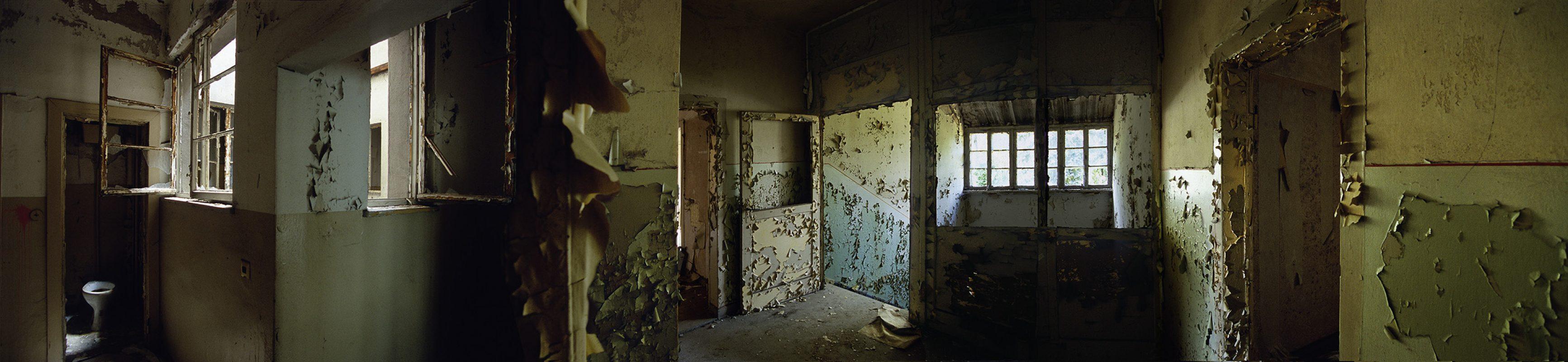 KZ-Außenlager Sachsenhausen, Häftlingsbäckerei am Klinkerwerk, Treppe-toilette