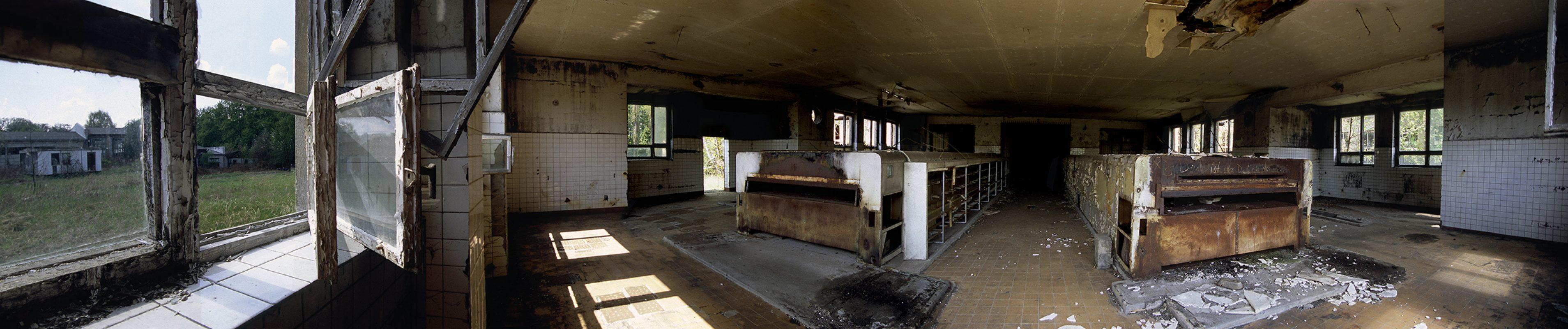 KZ-Außenlager Sachsenhausen, Häftlingsbäckerei am Klinkerwerk, grosser Backraum