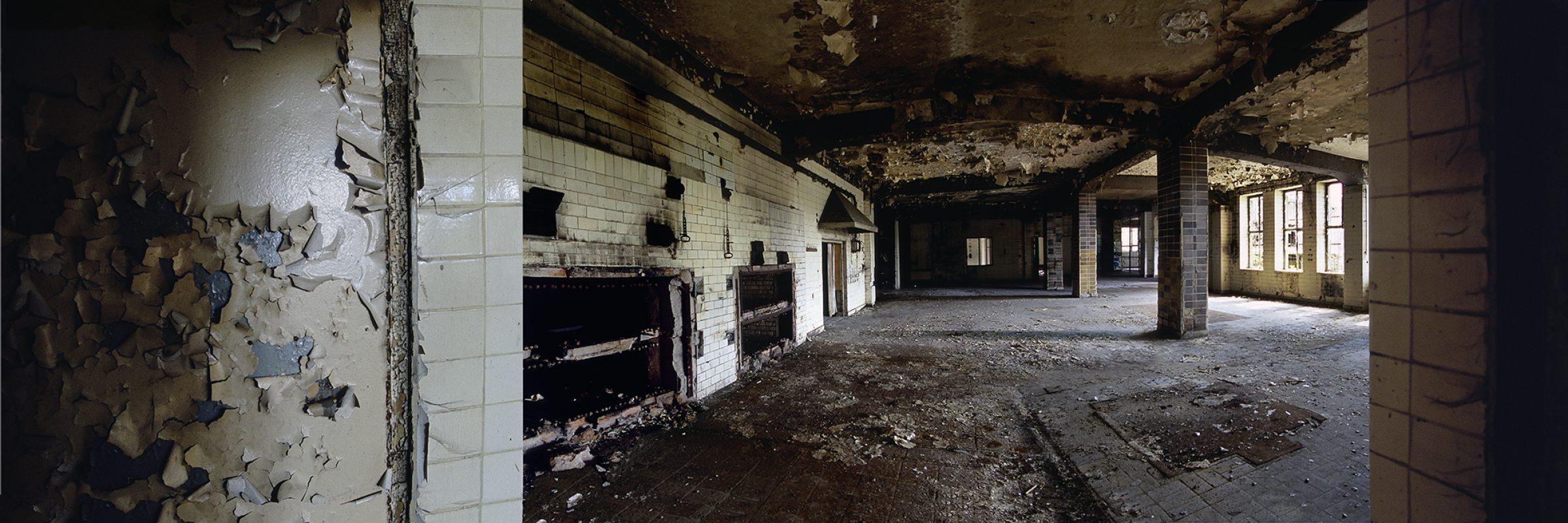 KZ-Außenlager Sachsenhausen, Häftlingsbäckerei am Klinkerwerk, kleiner Backraum