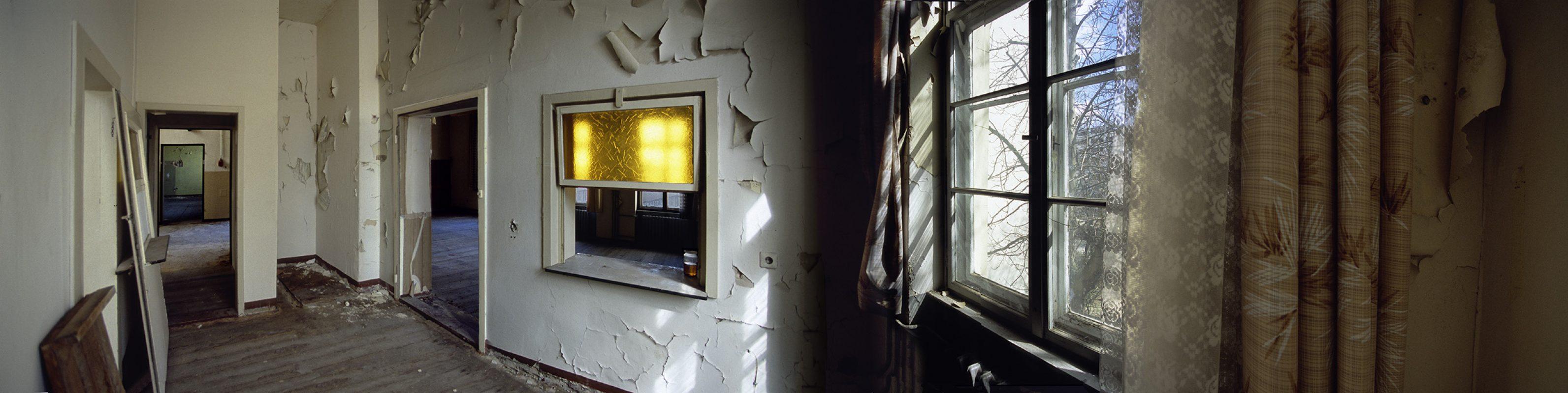 älteste Mädchen- und Knabenschule Berlins, gelbes Fenster