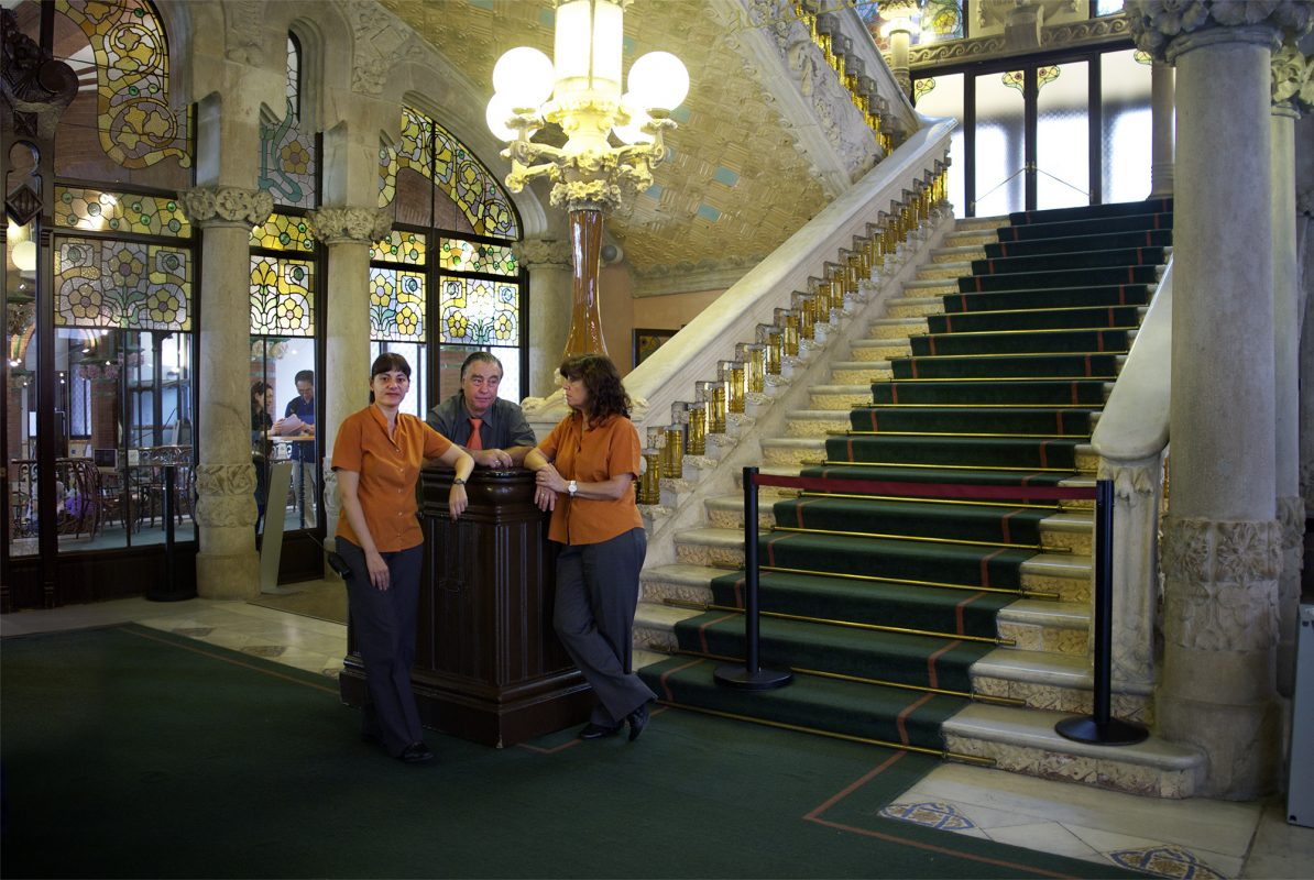 Aufsicht Palau de la Música Catalana