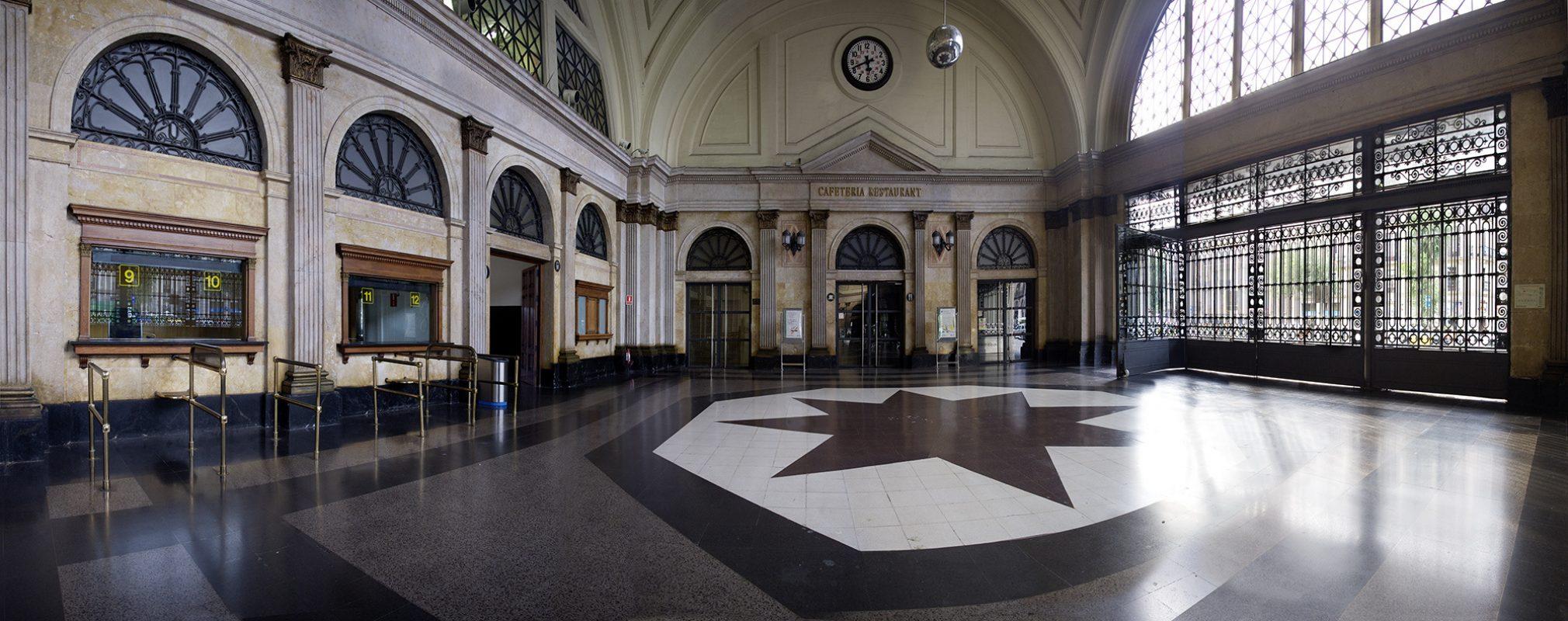 Barcelona, Estación de Francia, Halle