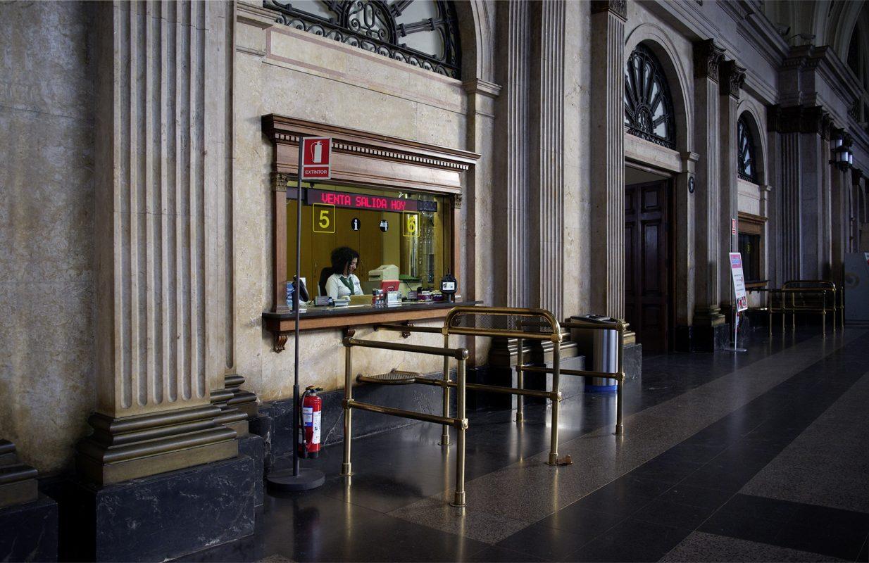 Barcelona, Estación de Francia, Schalter