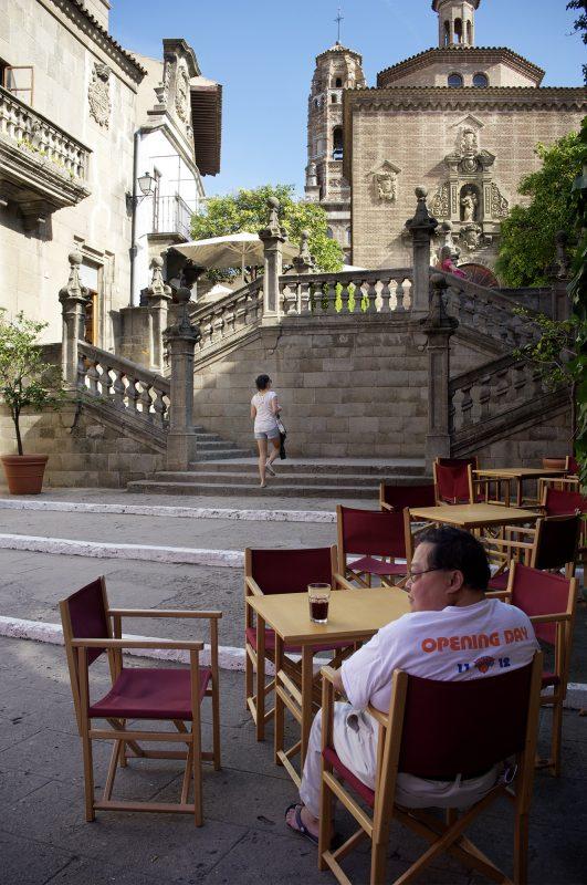 Barcelona Treppe Kirche Lokal