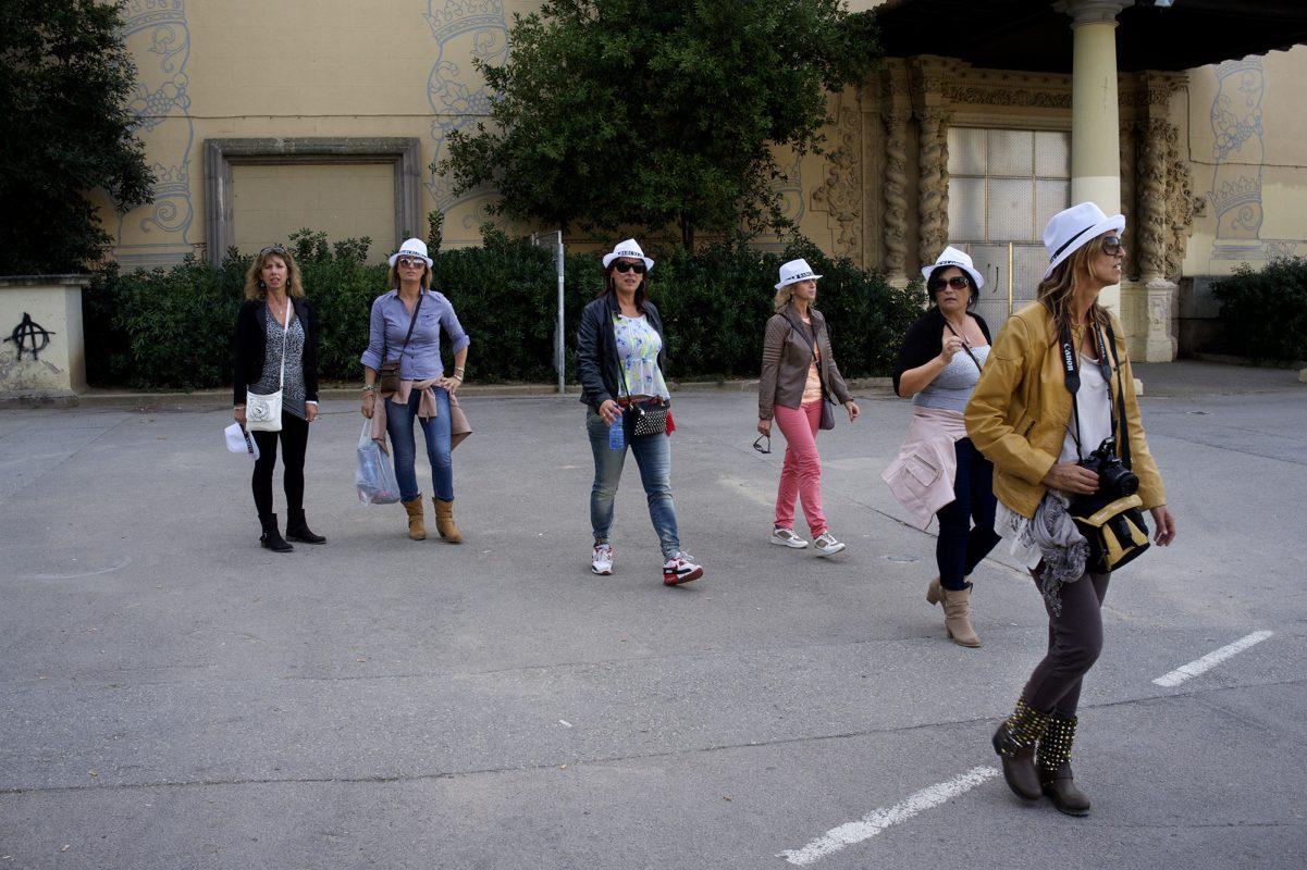 Barcelona 7 Frauen