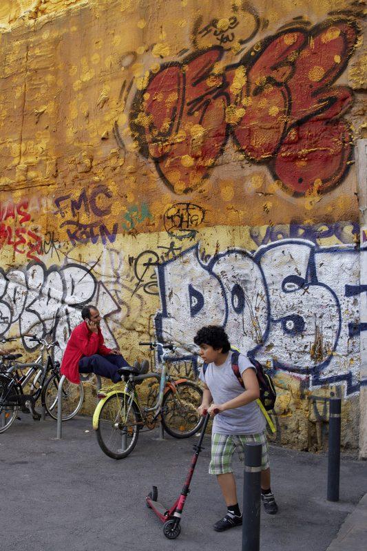 Graffitiwand