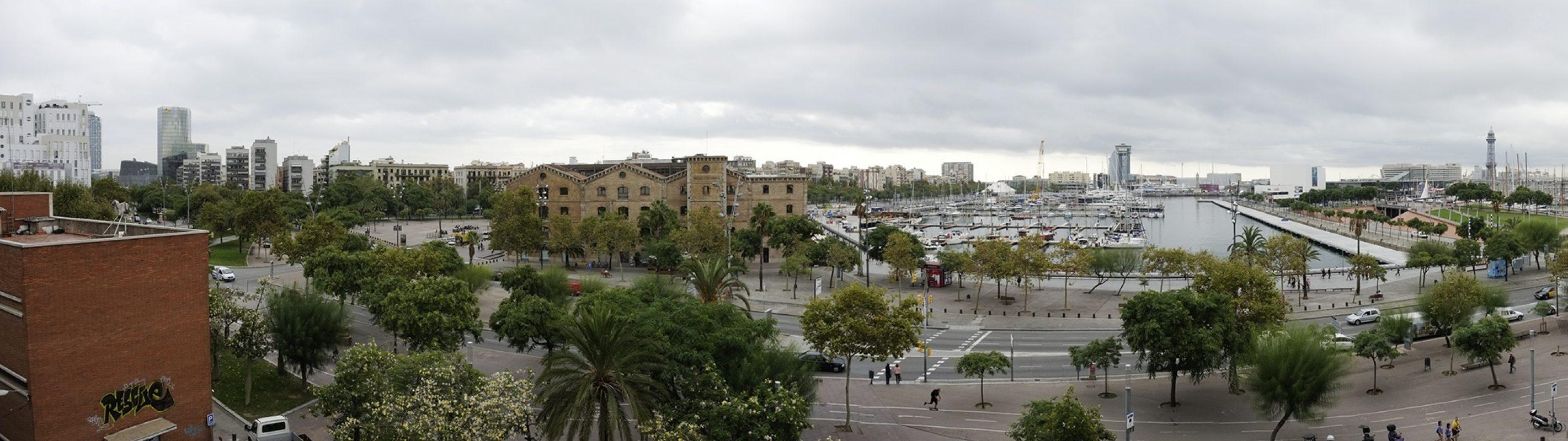 Barcelona, Panorama, Hafen