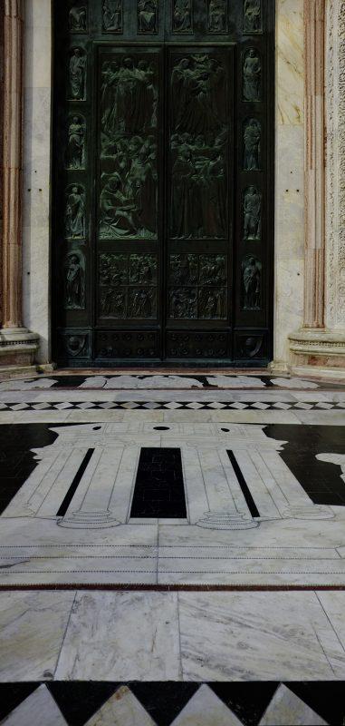 Italien, Kirchenportal Florenz