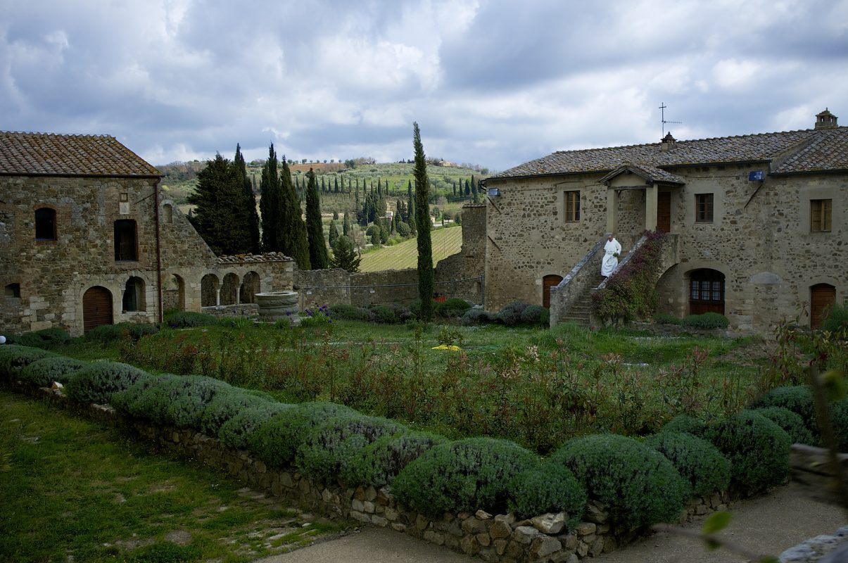 Italien, Toskana, Landschaft, Kloster