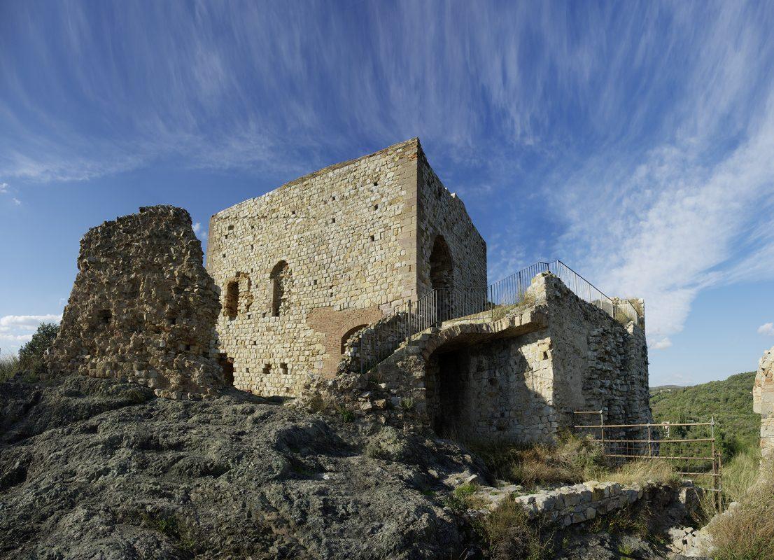 Toskana, Landschaft, Ruine