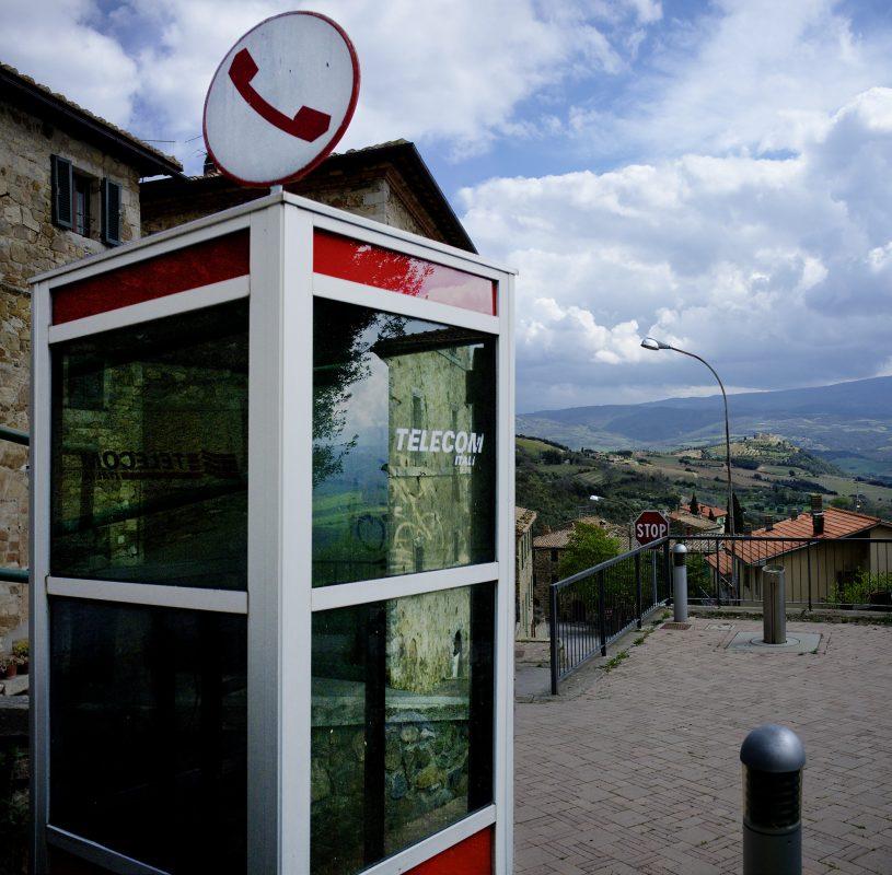Toskana, Telecom, Ausblick, Landschaft