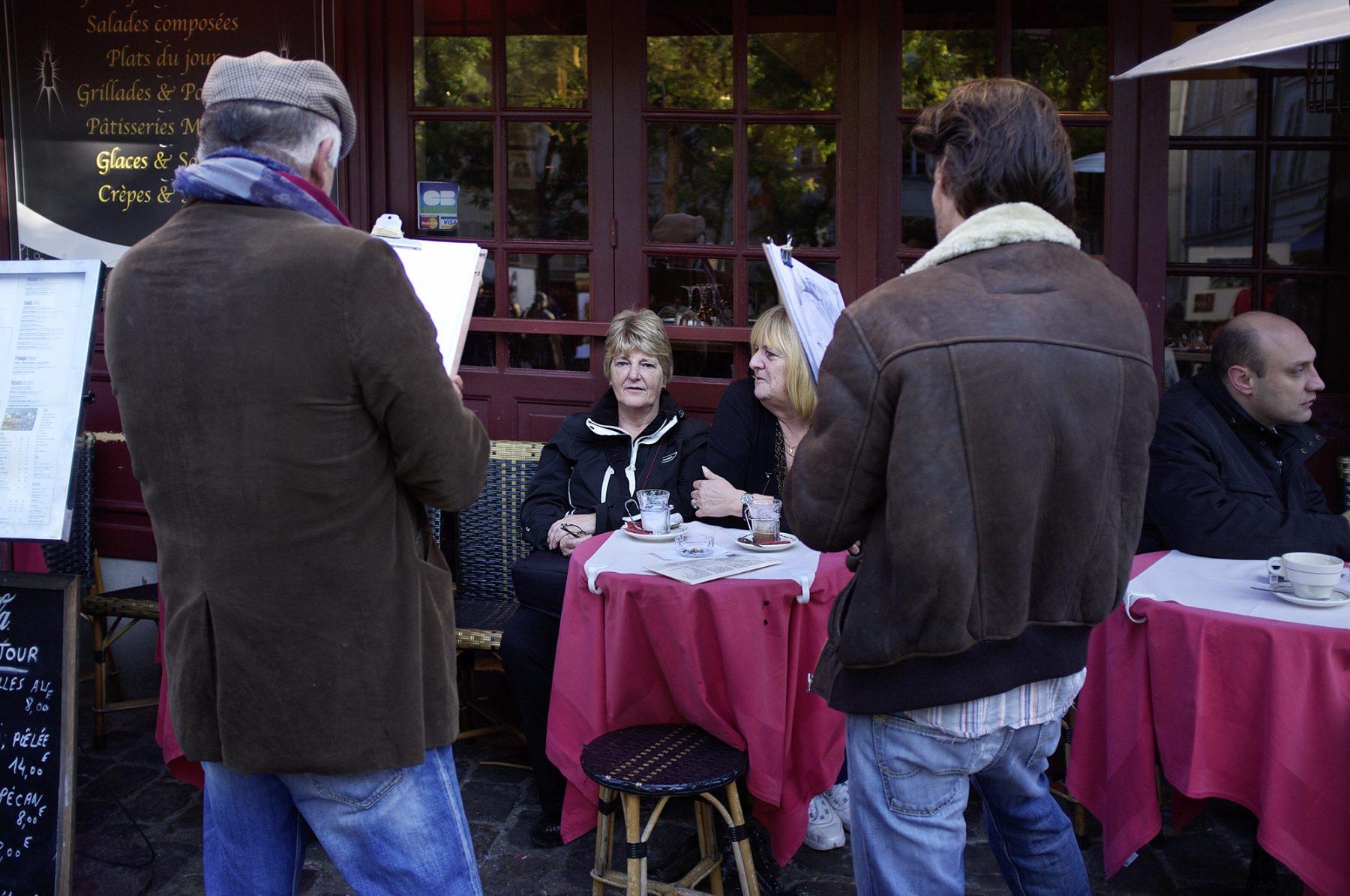 Porträtmaler Montmartre