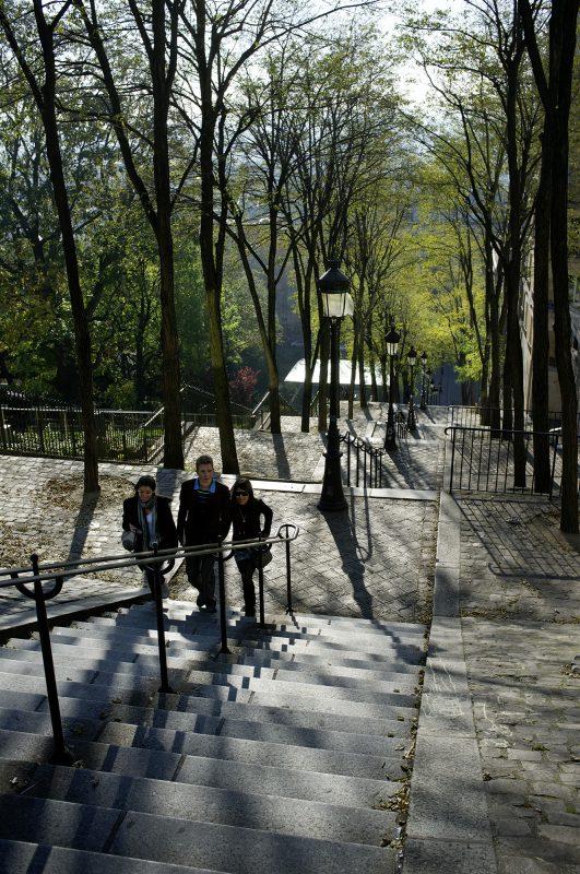 Paris, Treppe zum Monmartre