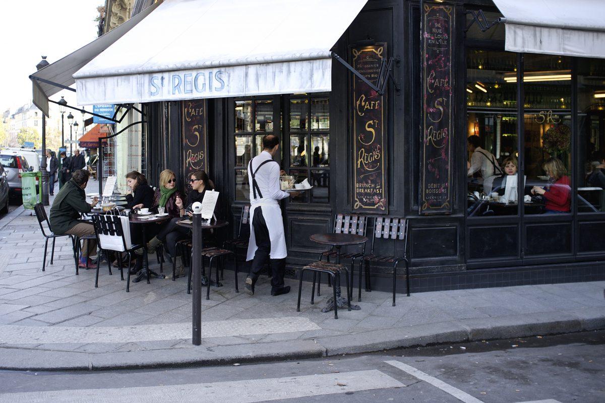 Paris, Café, Regis