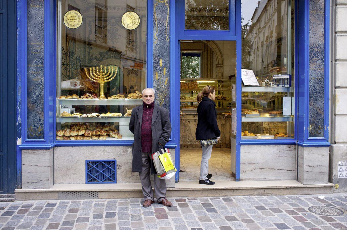 Jüdische Boulangerie, Rue de Rosiers, Marais